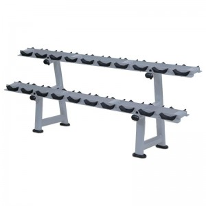 LT-6041---Two tier dumbbell rack