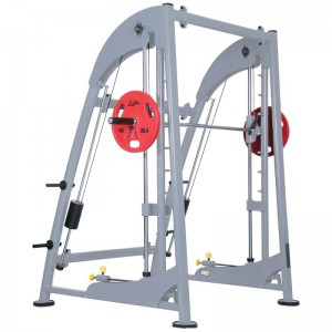 LT-5535B---Deluxe smith machine