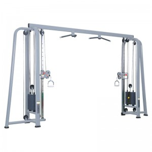 LT-6036---Adjustable cable crossover fitness equipment